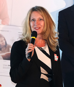 Staatssekretärin Heike Raab, Bevollmächtigte des Landes beim Bund und in Europa, für Medien und Digitales. Foto: Diether v. Goddenthow
